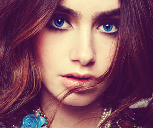 actress, beautiful, and lilycollins image