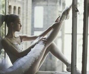 ballet, dance, and window image