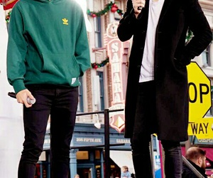 larry stylinson, Harry Styles, and louis tomlinson image