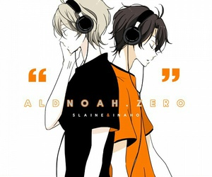 black and orange, cute boy, and aldnoah zero image