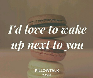 Lyrics, zayn, and pillowtalk image