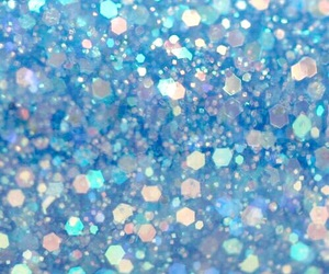 blue and sparkle image