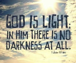 god, light, and quote image