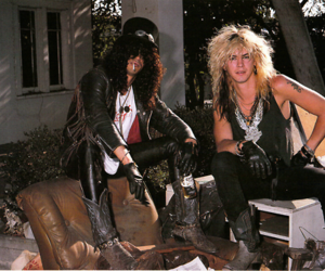 Guns N Roses, duff mckagan, and slash image