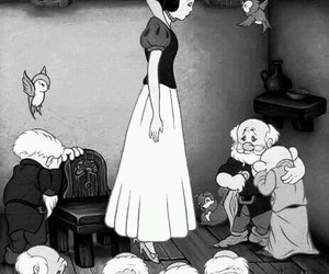 suicide, snow white, and disney image