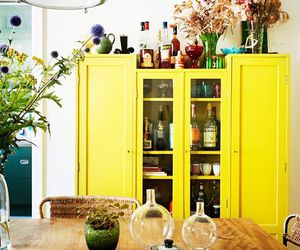 yellow, home, and decor image