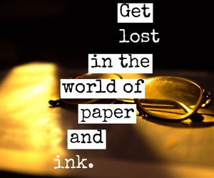 quote, ink, and Paper image