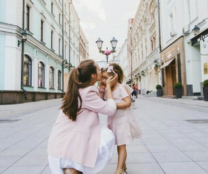 pink, family, and daughter image