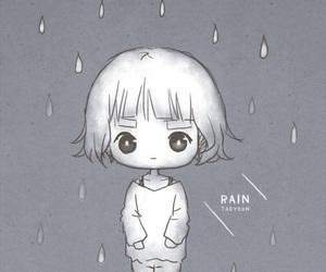 fan art, girls generation, and rain image
