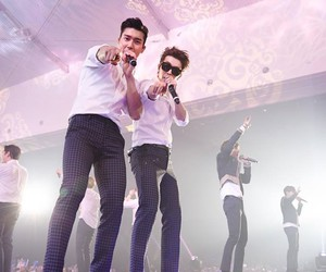 concert, donghae, and sing image