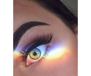colourful and eye image