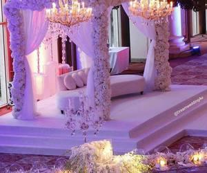 wedding, flowers, and decor image
