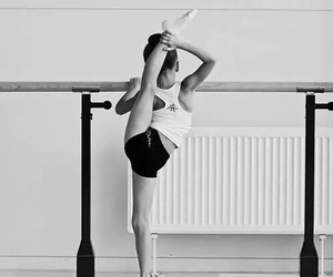 gymnastics, dance, and girl image