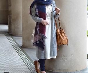 beautiful, fashion, and hijab image