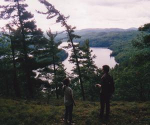 dreams, friend, and landscape image