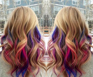 alternative, color, and hair image