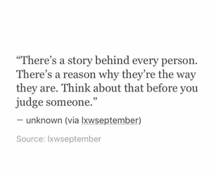 story, think, and stop judging image
