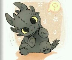 dragon, toothless, and kawaii image