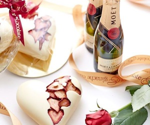 Valentine's Day, love, and moet image