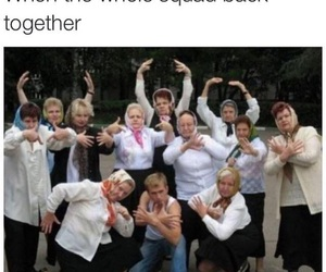 funny, squad, and lol image
