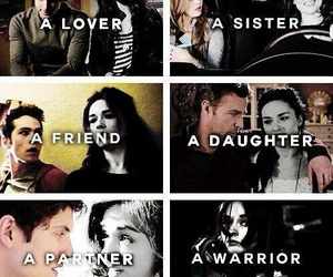 teen wolf, allison argent, and lover image