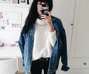 iphone, ootd, and fashion image