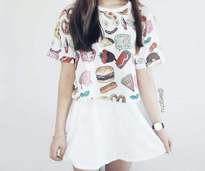 fashion, outfit, and tshirt image
