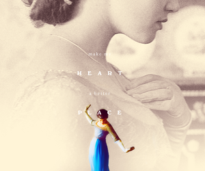 downton abbey, lady sybil crawley, and jessica brown findlay image