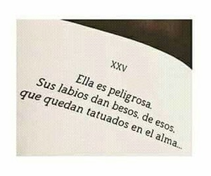 frases, books, and kisses image