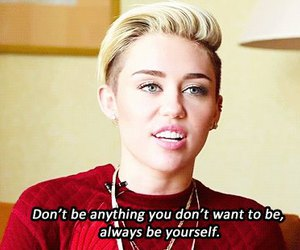 miley cyrus, quotes, and miley image