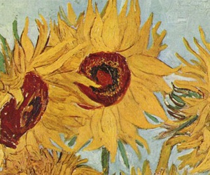 art and sunflower image
