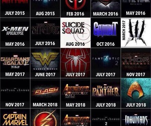 Marvel, movies, and DC image