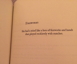 fireworks, her, and mind image