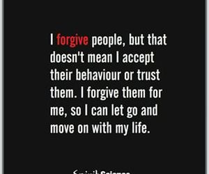 quote, forgive, and life image