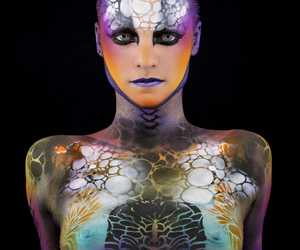 Airbrush, bodypainting, and face painting image