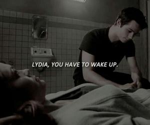 wake up, teen wolf, and lydia martin image