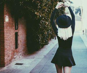 alternative, black, and black dress image