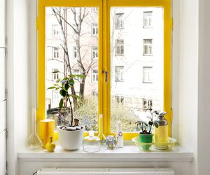 yellow, window, and design image