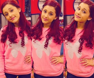 ariana grande, cat valentine, and grande image