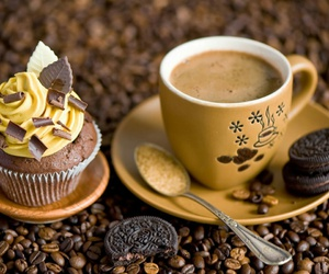 brown, coffee, and delicious image