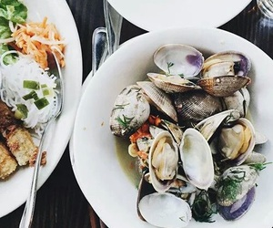 food, oysters, and restaurant image