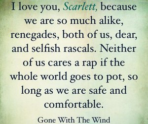 Gone with the Wind, movie, and quotes image