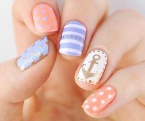 nails, fashion, and pastel image