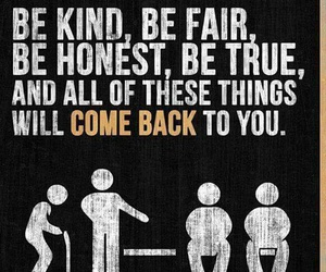 quote, fair, and honest image