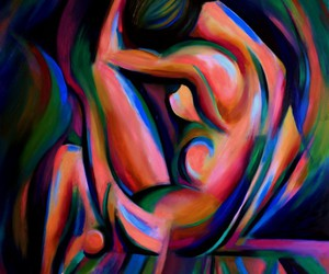 art, arts, and blue image