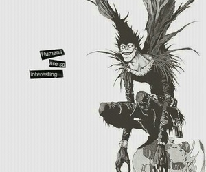 death note, ryuk, and anime image