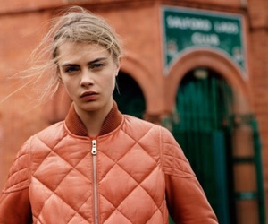 cara delevingne, model, and orange image