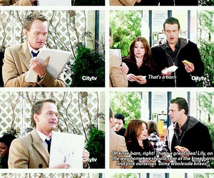 Barney Stinson, how i met your mother, and marshall eriksen image