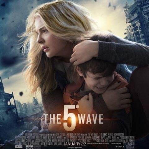the 5th wave, movie, and chloe grace moretz image