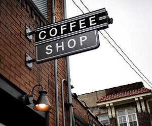 coffee, shop, and coffee shop image